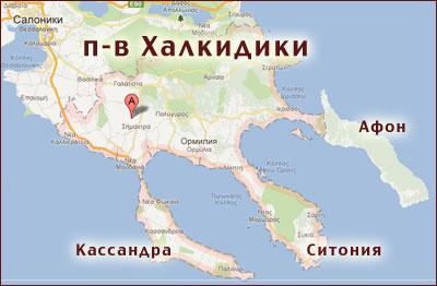 Где находится город салоники