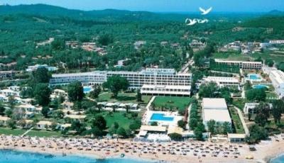 Prassino nissi hotel 2 корфу