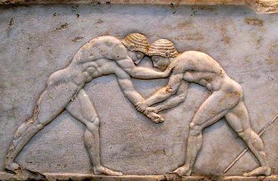 Панкратион - Древнегреческая борьба